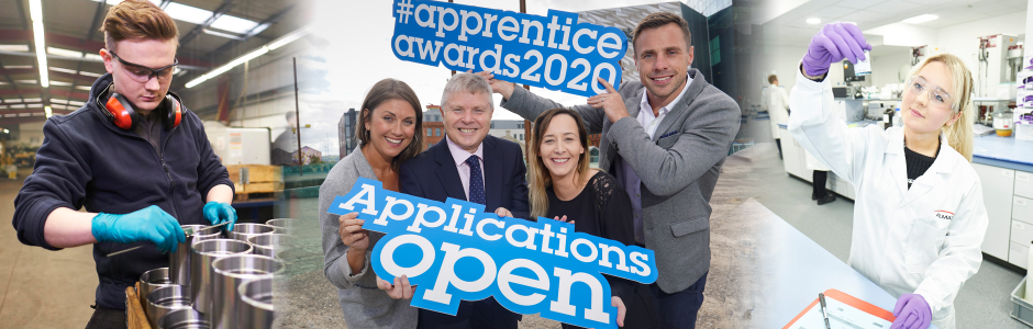 Apprentice Awards 2020 banner