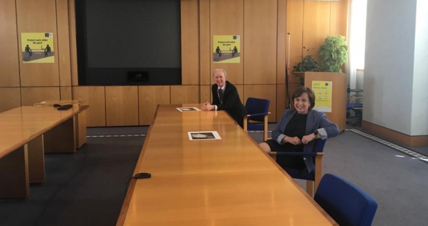Minister Dodds meeting Michael Ryan