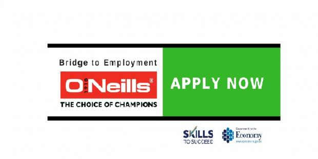 Career opportunities with O'Neills Irish International Sports Company Ltd
