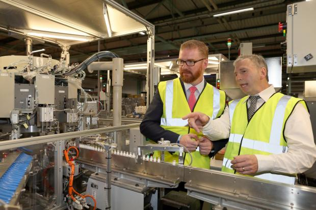 Hamilton praises Northern Ireland's manufacturing sector