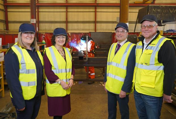 Ballymoney companies team up with Northern Regional College to deliver Welding Academy