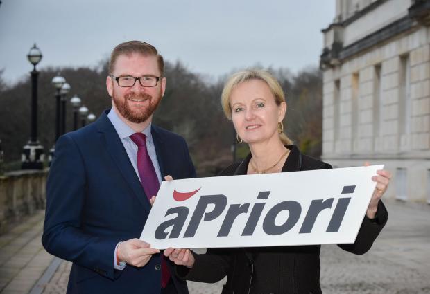Hamilton welcomes US investor aPriori Technologies to Northern Ireland