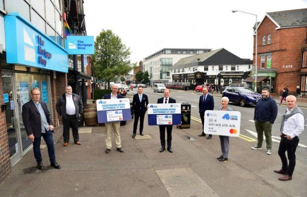 Lyons announces applications for Spend Local pre-paid card will open from 27th September to 25th October  Economy Minister Gordon Lyons today announced a number of important dates in the rollout of the High Street Scheme (HSS)