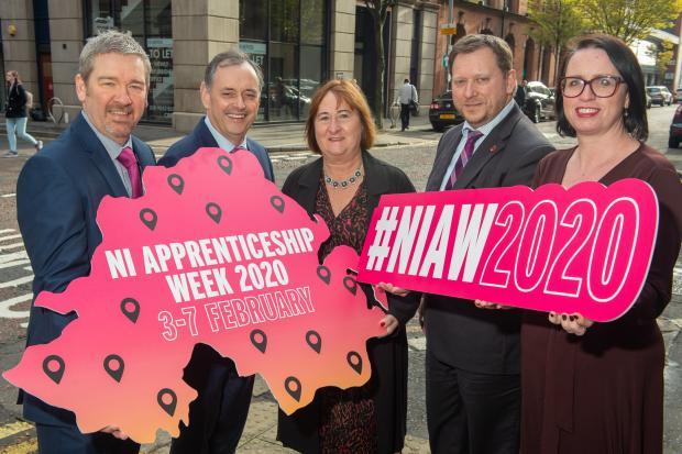 Launch of Northern Ireland Apprenticeship Week (NIAW) 2020