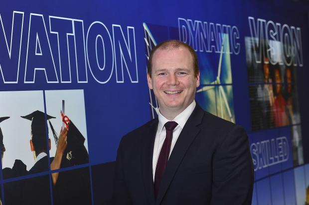 Economy Minister Gordon Lyons