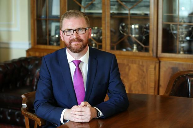 Economy Minister Simon Hamilton MLA has spelt out the facts that led to United Airlines ending its Belfast-Newark route.
