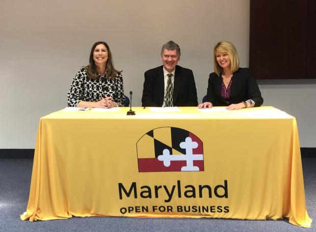 Memorandum of Understanding signing in Baltimore