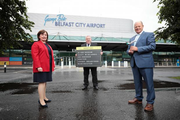 Aer Lingus is to establish a base at George Best Belfast City Airport.