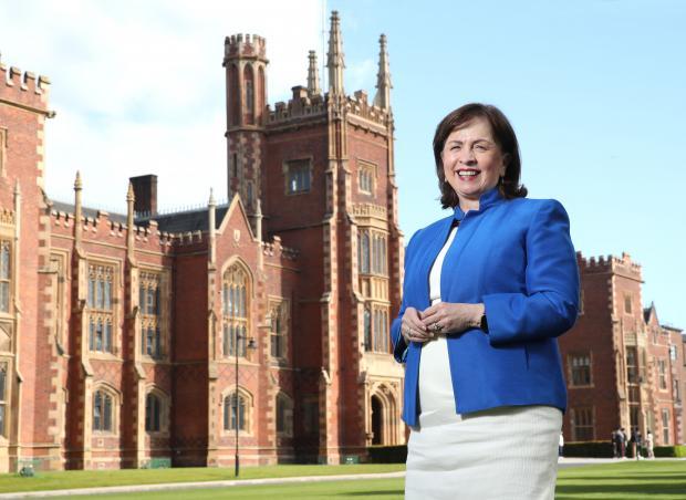 Diane Dodds at Queen's University Belfast