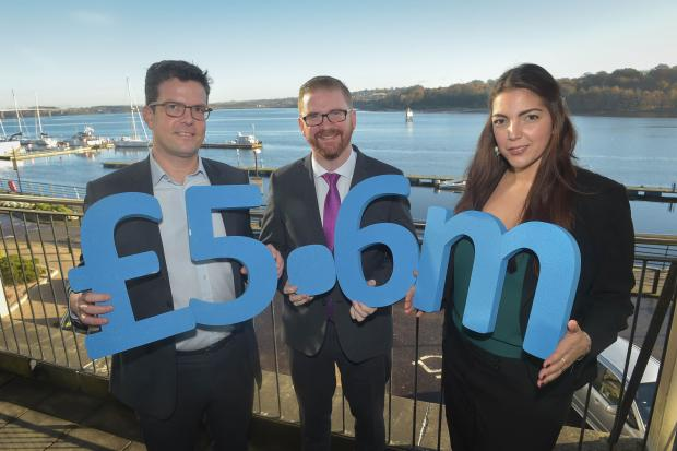 Hamilton announces £5.6m investment & 100 new jobs in Londonderry and Strabane