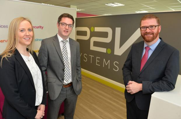 Hamilton welcomes P2V Systems' IT growth in Lisburn