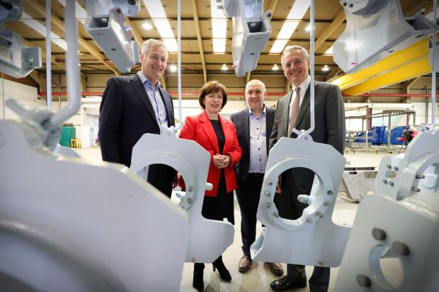 Dodds announces 155 jobs boost for Coleraine