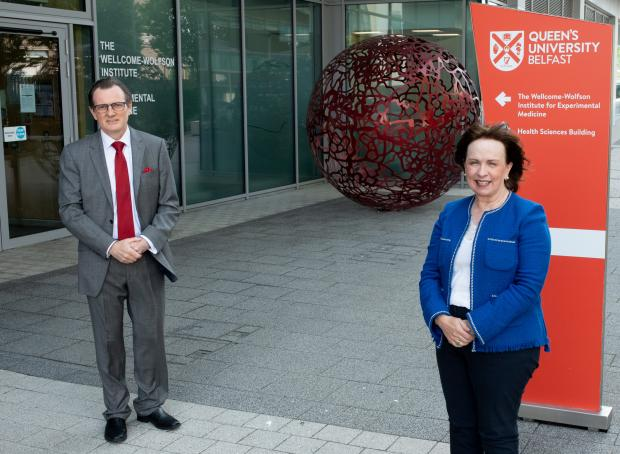 Economy Minister at QUB