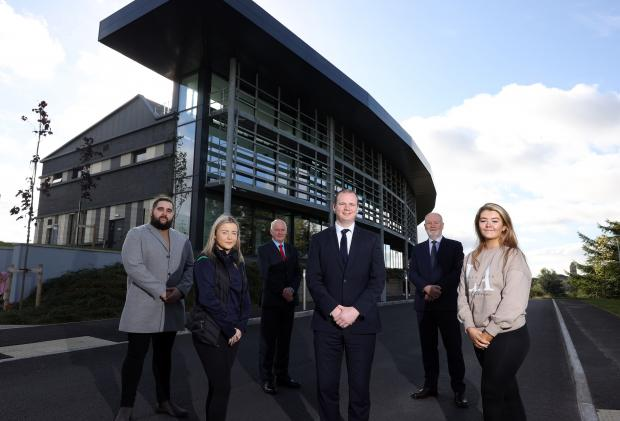 Official opening of new £30million Erne Campus of South West College in Enniskillen.