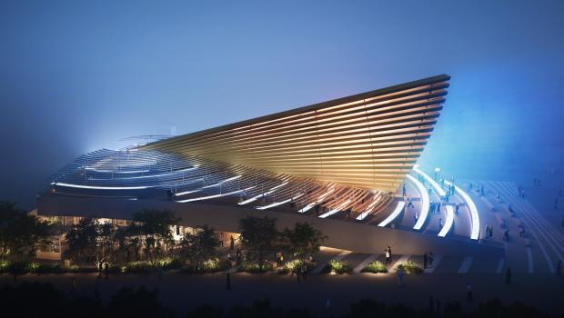 An adaptation of the UK pavilion at Expo 2020 Dubai