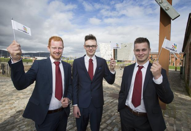Northern Ireland going for gold at WorldSkills 2017