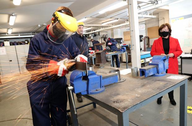 Employers will receive up to £3,700 for every apprentice brought into the workplace - Dodds