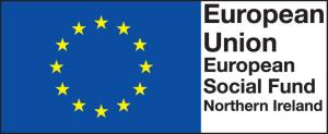 European Social Fund Northern Ireland logo