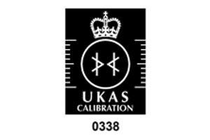 UKAS Calibration 0338 accreditation mark