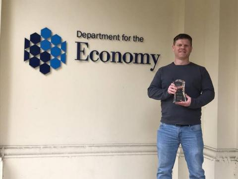 Higher Level Apprentice Award 2021 finalist - Barry Donnelly – Cundall - South West College