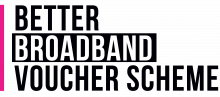 Better Broadband Voucher Scheme logo